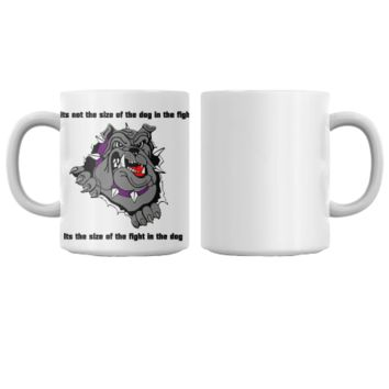 Size of the dog mug
