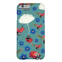Ladybirds & Flowers iPhone 6/6s, Barely There Barely There iPhone 6 Case
