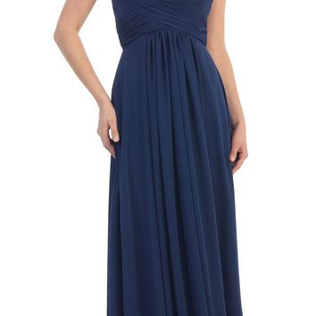Long Formal Prom Dress Bridesmaids 2018