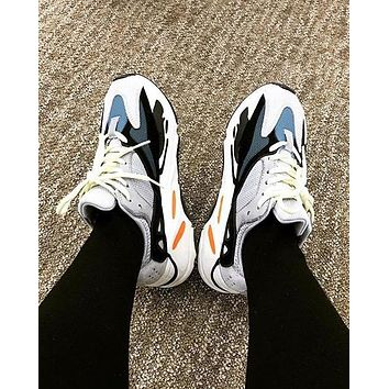 ADIDAS YEEZY 700 BOOST Tide brand retro comfortable men and women models wild casual sports shoes 1#