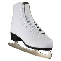 Ladies American Tricot Lined Ice skates - White