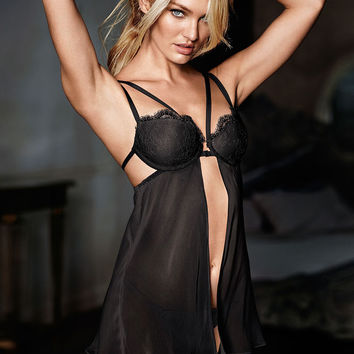 Strappy Chantilly Lace Babydoll - Very Sexy - Victoria's Secret