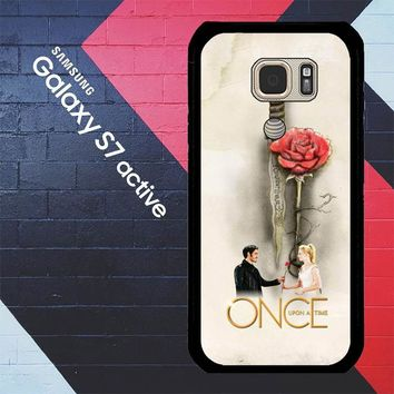 Once Upon A Time Rose X3423 Samsung Galaxy S7 Active Case