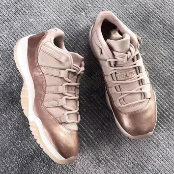 Air Jordan 11 Retro Low WMNS Rose Gold AJ11 Sneakers