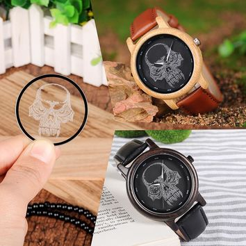 Wooden Bamboo Wristwatches for Men and Women Ideal Quartz Watches Gifts Timepieces C-P24