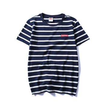 Cheap Women's and men's supreme t shirt for sale 85902898_0099