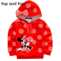 Girls-Minnie Mouse Sweater