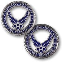 US Air Force Core Values Coin