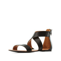 Two Piece Strappy Sandals