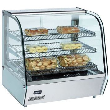 """Commercial Countertop Heated Display Case 27"""""""