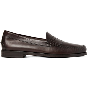 TOM FORD - Crewe Leather Penny Loafers