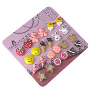 Cute Fashion Jewelry Magnetic Stud Earrings for by Skyblueshops