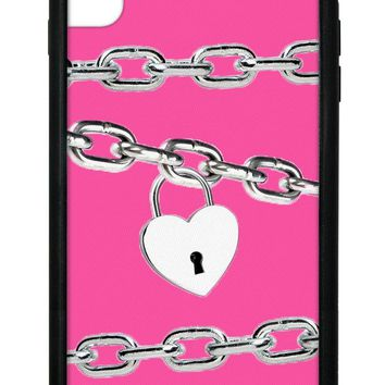 Pink Chains iPhone Xs Max Case