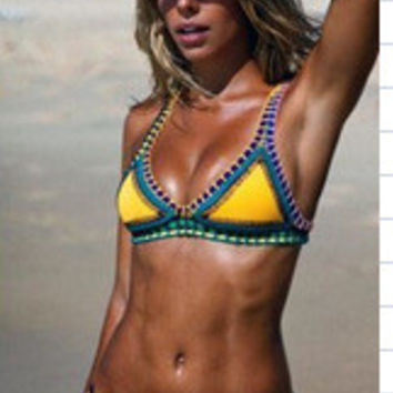 Swimsuit Summer Hot Beach New Arrival Swimwear Sexy With Steel Wire Bikini [4914836548]
