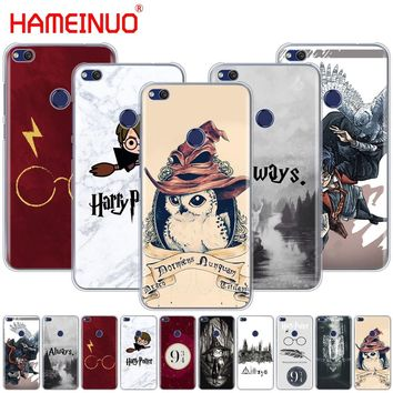 HAMEINUO Harry Potter always Style Cover phone Case for huawei Ascend P7 P8 P9 P10 P20 lite plus pro G9 G8 G7 2017