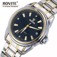 Watches Men Luxury Brand Stainless Steel Skeleton Automatic Mechanical Men Hours Shock Waterproof Wrist Watch Reloje Hombre 0183
