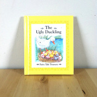 The Ugly Duckling: Fairy Tale Treasury {1993} Vintage Book