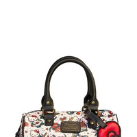 Hello Kitty Pebble Tattoo Crossbody Duffle Bag | Blame Betty