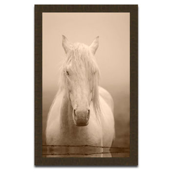 Simple Horse in Sepia, Photographs