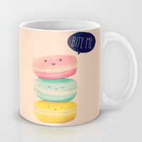 Bite Me Mug by Nan Lawson