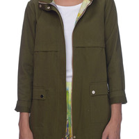 Coupe Military Spring Jacket