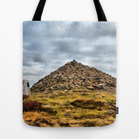 Beamsley Beacon  Tote Bag by Karl Wilson Photography