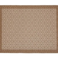 Tile Geometric Indoor/Outdoor Rug - Chestnut