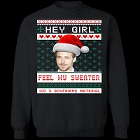 Feel My Sweater Ugly Christmas Sweater