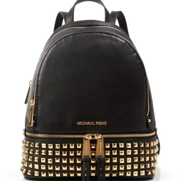 cda445e451d5 MICHAEL Michael Kors Backpack - Bloomingdale s Exclusive Small Rhea Zip  Soft Venus Stu