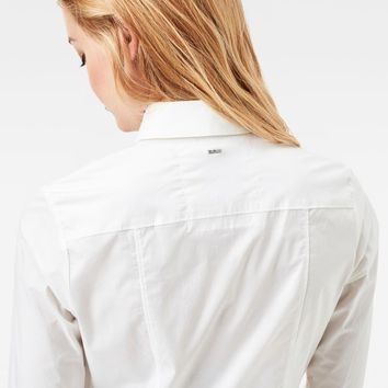 Core 3D Slim Shirt | White | Women | G-Star RAW®