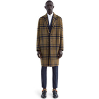 Acne Studios - Charles check night blue/setter green