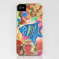 Angel Fish iPhone Case by Paintings by gretzky   Society6