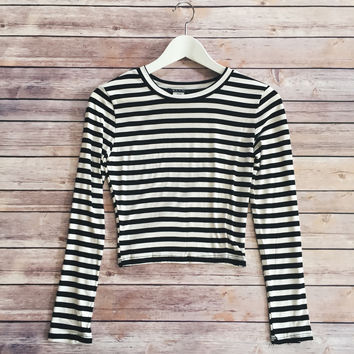 Claire Striped Top
