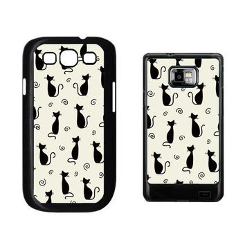 Adorable Cats Samsung Galaxy S3 and Galaxy S2(i9100) Case