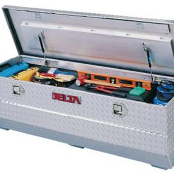 Delta Consolidated 896260 Aluminum Truck Value Tool Chest, Full Size, Bright