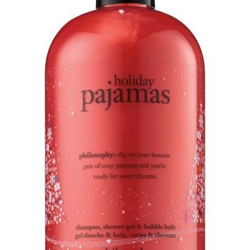 philosophy holiday pajamas shampoo, shower gel & bubble bath (Limited Edition) | Nordstrom