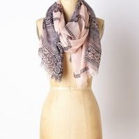 Morningside Scarf by Anthropologie Rose One Size Scarves