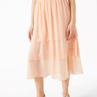 Monki | Dresses & skirts | Ruffle layered midi skirt