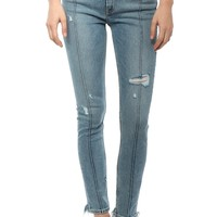 Levi's 721 High Rise Skinny - Blue Chaos