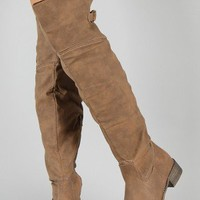 Olympia-02 Round Toe Thigh High Riding Boot