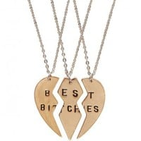 3 Best Bitches Necklaces - What's New | GYPSY WARRIOR