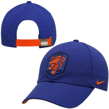 Netherlands Nike Core Adjustable Hat – Royal Blue - http://www.shareasale.com/m-pr.cfm?merchantID=7124&userID=1042934&productID=540995640 / Netherlands