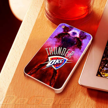 Thunder NBA Club Eagle Nebula - for iPhone 4 case, iPhone 5 case and Samsung Galaxy s3 case, sasmsung s4 case