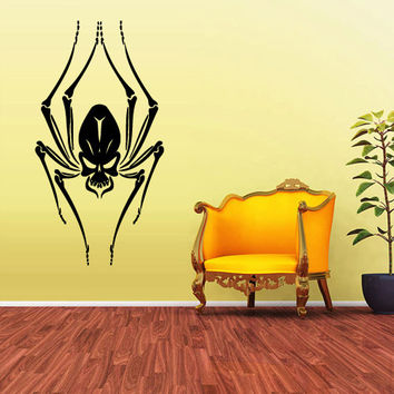 Wall Decals Decor Art Mural Sticker Spider Animal Kids Bedroom Design Skull (z2019)