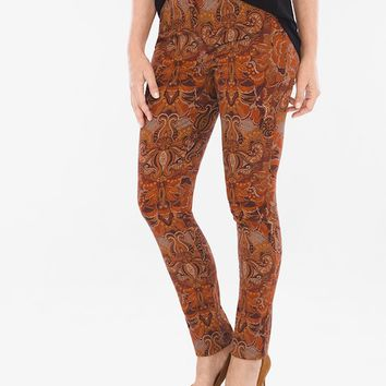 Chico's Opulent Paisley Jeggings