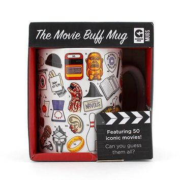 GINGER FOX THE MOVIE BUFF MUG
