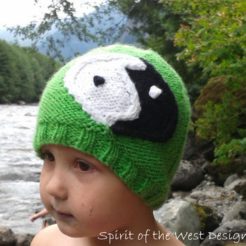 Yin Yang Cabled Hat - Knitting Pattern, Yin Yang,child teen Adult sizes, hippi, boho, winter hat, toque unisex easy quick, mens hat, cable,
