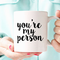 Grey's Anatomy Coffee Mug | Christmas Gifts | Unique Friendship Mugs | Cute Best Friend Mugs | 2 sizes available