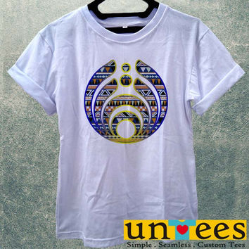 Low Price Women's Adult T-Shirt - Bassnectar Logo on Aztec design