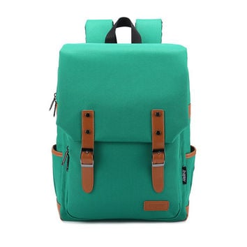 Hot Deal Comfort College Stylish On Sale Back To School Casual Patchwork Korean Backpack [6304977028]